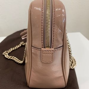 Gucci Bags - Gucci Soho Double Chain Patent Leather Bag